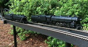 G Scale Aristocraft RARE LNIB Undecorated Mikado 2-8-2 PAIR for sale as one lot