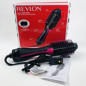 Revlon Salon One Step Hair Dryer Volumizer Brush Comb Hair Care Black RVDR5222