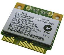 NEW Atheros AR5B97 802.11b/g/n PCI-E Half mini Card NI.23600.073 / WK226