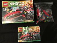 Lego Ninjago Warrior Bike 70501 Jay Samouraï Complet Personnages +Boite +Notice
