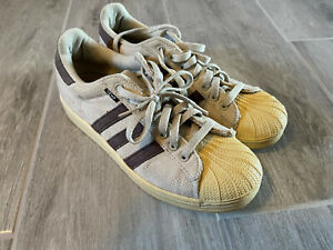 Adidas Superstar Hemp Shell Toe Tan Brown Men's Size 8 671429 RARE Vintage
