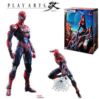 Square Enix Variant Play Arts Kai Marvel Spider-Man PVC Action Figure Statue Toy