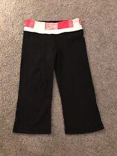 Lululemon Groove Crop Leggings Pink White Black, Size 4, Retail $86