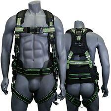 Afp Fall Protection Safety Harness Premium Hi Viz Lime Black Reflective Bad Boy