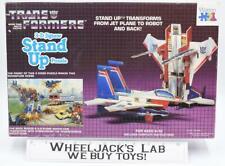 Starscream Action Figure 3D Jigsaw Puzzle Complete Hasbro G1 Transformers