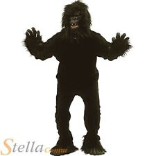 Men's Gorilla Ape Money Suit Adult Animal Jungle Fancy Dress Costume