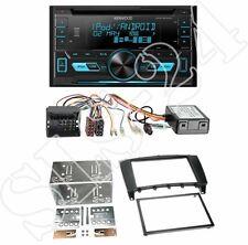 Kenwood dpx3000u CD radio + Mercedes clase C (w203) 2-din diafragma Black + Can-Bus
