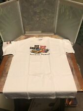 Cat Racing #22 Car Pit Crew Official Member Shirt Childrens Size Large 14-16
