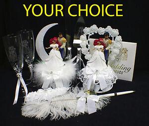 DISNEY Little Mermaid Wedding Cake Topper Princess,  Ariel Prince Eric fairytale
