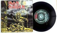"""EX/EX IRON MAIDEN SANCTUARY UK 1st PRESS 1980 7"""" VINYL 45 (EMI 5065)"""