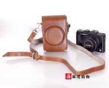 New Leather Camera Case Bag Cover for Panasonic DMC-LX7 LX5 Leica D-LUX6 LUX5