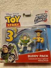 Toy Story 3 Buddy Pack Buzz Lightyear and Walking Woody NIP
