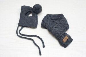 Dog Winter Hats Warm Knitted Scarf Cap Outdoor Hat Cotton Headgear Accessories