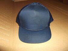LOT OF 8 YUPOONG 5 PANEL PLAIN BLANK ADJUSTABLE CLASSIC POLICE HAT CAP OSFA