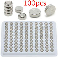 SR626SW AG4 377 LR626 Alkaline Button Cell Watch Battery Batteries 1.55V 100pcs