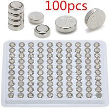 Cell Watch Battery Batteries 1.55V 100pcs, Sr626Sw Ag4 377 Lr626 Alkaline Button