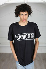 Sons of Anarchy Samcro Banner Oficial Unisex Camiseta SOA jax teller Motocicleta