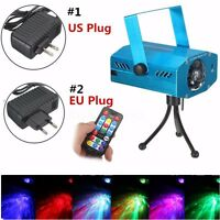 RGB Water Wave Projector Club Show DJ Disco LED Stage Party Laser Lighting