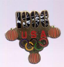 1996 USA Halloween Atlanta Olympic Pin Rings Pumpkin