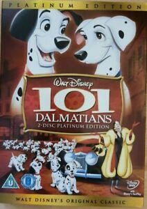 Disney 101 Dalmatians DVD Brand New and Sealed