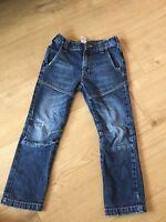 George Skinny Fit Jeans Faded Dark Blue Boys 5-6Yrs