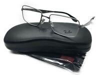 Ray Ban Eyeglasses-RB 6329 2553 Gunmetal rectangular 53-18140