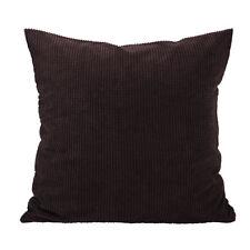 Christmas Corduroy Throw Pillow Case Sofa Waist Cushion Pillow Cover Home Dec