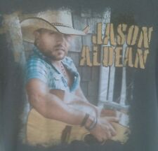Jason Aldean 2012 Concept Tour Adult Small T-Shirt 100% Cotton