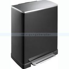 EKO Pedaalemmer E-cube 50l Zwart