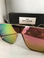 NWT GoJane California Shiny New View Shield UV 400 fashion Sunglasses