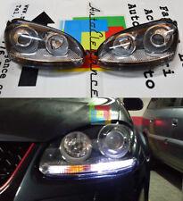 FARI ANTERIORI LOOK GTI VW GOLF 5 2003-2008 FANALI CON POSIZIONE LED .-