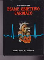 JONATHAN ABRAMS ESAME OBIETTIVO CARDIACO CHIESI 1990 MEDICINA CARDIOLOGIA CUORE
