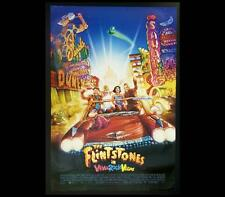 Flintstones Viva Rock Vegas 2000 Original Australian OS Cinema Movie Poster 456