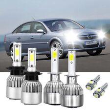 Fits Vauxhall Opel Vectra MK2 C GTS 2000-2008 H7 100W COB LED Bulbs Pair Canbu