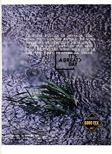 2004 / Gore-tex / textile imperméable / publicity / advertising