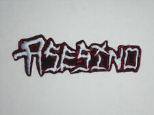 ASESINO DEATH METAL IRON ON EMBROIDERED PATCH
