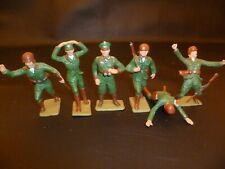 Set of 6 Cherilea 60mm German Toy Soldiers