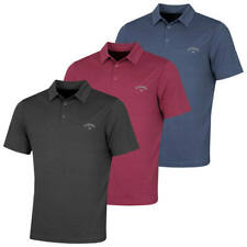 Callaway Golf Mens Herringbone Opti-Dri Moisture Wicking Polo Shirt 33% OFF RRP