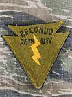 Original Vietnam War Army 25th Infantry RECONDO Special Forces Arrow Patch