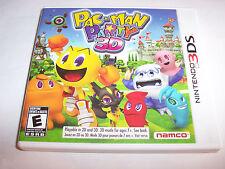 Pac-Man Party 3D Pacman (Nintendo 3DS) XL 2DS Game w/Case & Manual