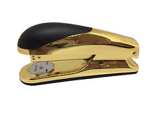 Paper Stapler Case x12 Niceday Gold Deluxe Acrylic Office School Staples 15 Page