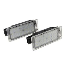 CE LED Number License Plate Lamp Fit Renault Twingo II lio Clio Megane Lagane