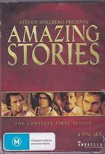 STEVEN SPIELBERG PRESENTS AMAZING STORIES - FIRST SEASON - 4 DVD'S