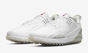 Jordan ADG 3 Golf White Tech Grey Black Fire M Size 10 (CW7242-100) New