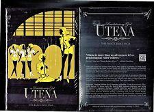 Revolutionary Girl Utena: The Black Rose Saga - Set 2 (Brand New 3-Disc Box Set)