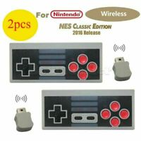 2X Wireless NES Gamepad Game Joypad Controller For Games Mini Classic Console