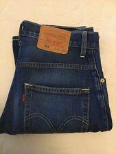 Levis 551 Ladies Blue Jeans W31 L33