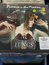 SEALED Florence & The Machine LP Lungs RED Vinyl Record