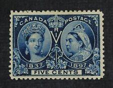 Ckstamps: Canada Stamps Collection Scott#54 Jubilee Mint Hr Og Spot Thin