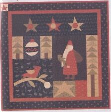 Holly Jolly Christmas - applique & pieced Christmas wall quilt PATTERN